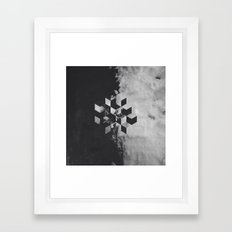 Pattern Drop I Framed Art Print