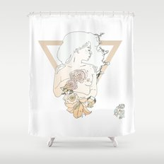 S R Shower Curtain