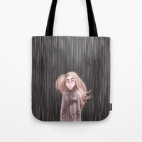 Awaiting For The Rain Tote Bag