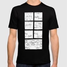 my favourite things Mens Fitted Tee Black SMALL