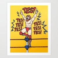Daniel Bryan (WWE) Art Print