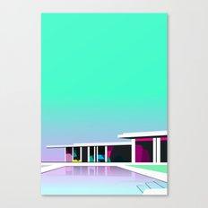 Less than zero Canvas Print
