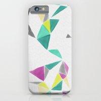 Watercolor Geometry  iPhone 6 Slim Case