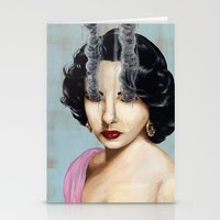 Elizabeth Taylor Stationery Cards