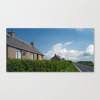 Howe Farm Cottages Canvas Print