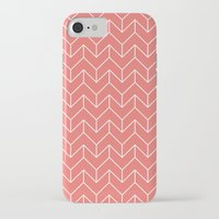 chevron iPhone & iPod Cases featuring Chevron by Dizzy Moments