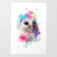 My Dear Owl Art Print