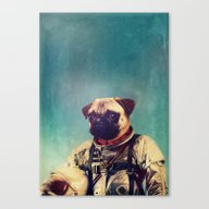 Canvas Print featuring A Point To Prove by Rubbishmonkey