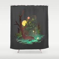 Headless Hunter Shower Curtain