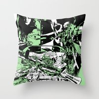 Merge Phase Throw Pillow