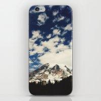 Mount Rainier: Captured … iPhone & iPod Skin