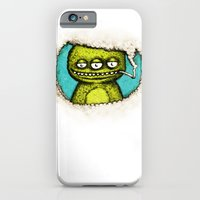 iPhone & iPod Case featuring 3Eye by MaComiX