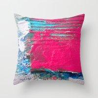 PEELING Throw Pillow
