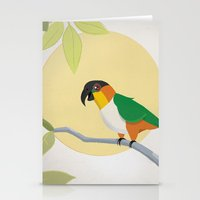 Black-Headed Caique Parr… Stationery Cards