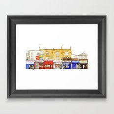 Chalk Farm Road 56-51A/Camden, London Framed Art Print