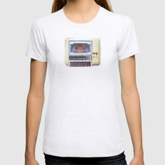 Commodore 64 tape drive Womens Fitted Tee Ash Grey SMALL