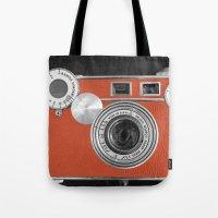 Tangerine Tango retro vintage phone Tote Bag