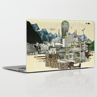 Collage City Mix 7 Laptop & iPad Skin