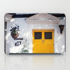 The Perfect Yellow Door iPad Case