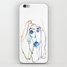 conflicted face iPhone & iPod Skin
