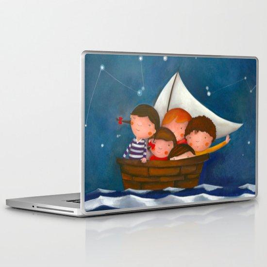At the sea Laptop & iPad Skin