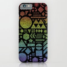 Modern Elements with Spectrum. iPhone 6 Slim Case
