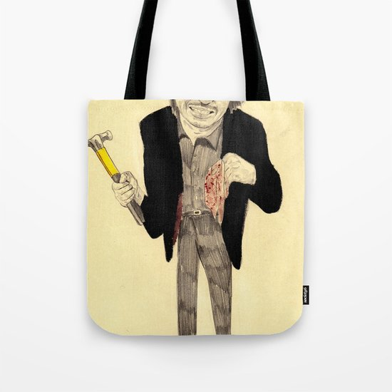 Oh Dae-su  Tote Bag