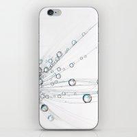 Ice White Drops iPhone & iPod Skin