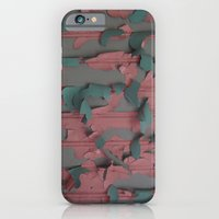 iPhone & iPod Case featuring paint peel 1 by vincent cimino