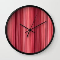 Ambient 33 in Pink Wall Clock