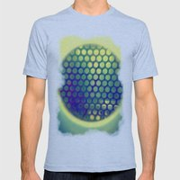 Circle-Ception  Mens Fitted Tee Athletic Blue SMALL