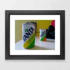 Fanta Soda  Framed Art Print
