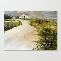 windswept coast Canvas Print