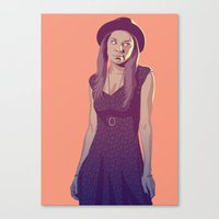 80/90s Marge Canvas Print