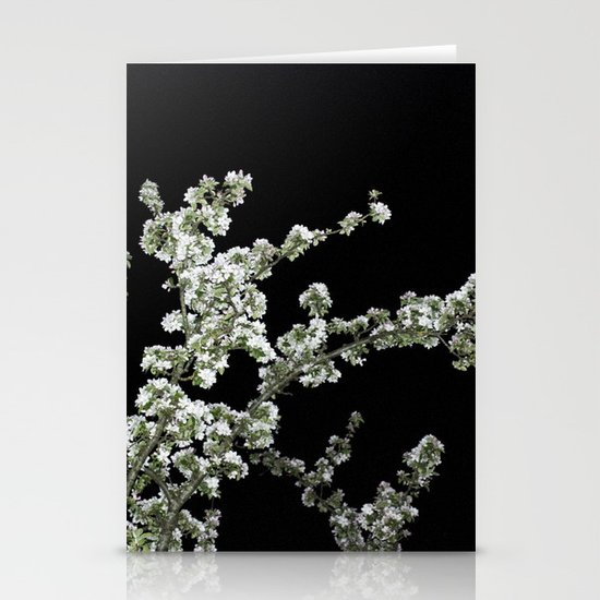 Night Blossom Stationery Card