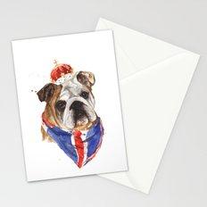 Thank you LONDON - British BULLDOG - Jubilee Art Stationery Cards