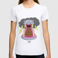 The Hippo's Not So Tempting Offer Womens Fitted Tee Ash Grey SMALL