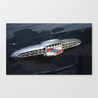 CHEVY Power Glide Canvas Print