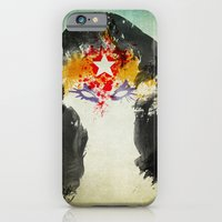 iPhone & iPod Case featuring Muscle Girl by Arian Noveir