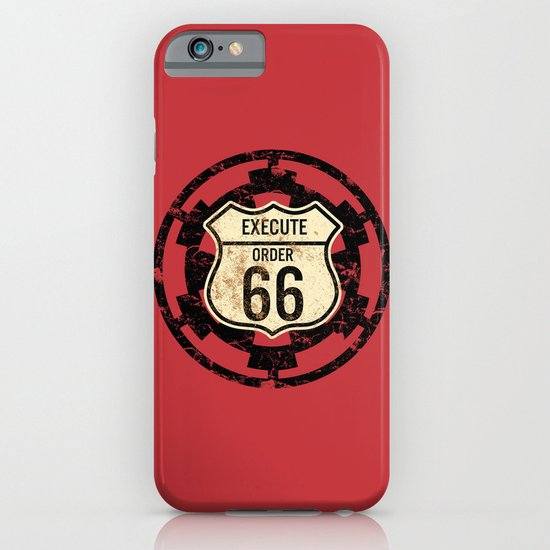 Execute Order 66 iPhone & iPod Case