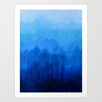 Mists No.4 Art Print
