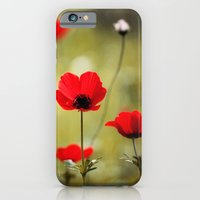 iPhone & iPod Case featuring Wild Anemones by Around the Island (Robin Epstein)