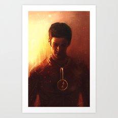 The Flash Art Print