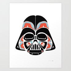 Death Mask - Alliance Is Rebellion - Darth Vader Art Print