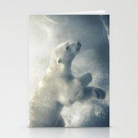 Polar Swim Stationery Cards