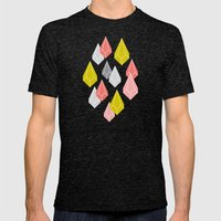 Raining Gems - Enchanted Mens Fitted Tee Tri-Black SMALL