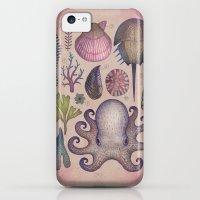 iPhone 5c Cases featuring Aequoreus vita V / Marine life V by Vladimir Stankovic