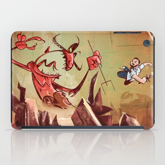 The Devil is a Jerk iPad Case