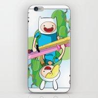 Adventure Time: Finn & Fionna iPhone & iPod Skin