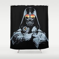 DJ Darth Vader Shower Curtain